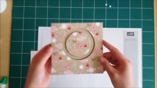 tuto carte mouvement rotatif stampin up