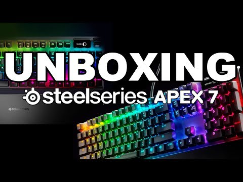 SteelSeries Apex 7 - Unboxing + Review