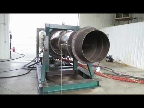 Gas Turbine Water Injection Run