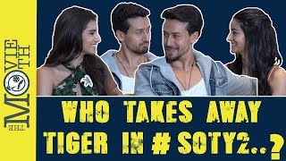 Who Takes Away Tiger Shroff? Ananya Pandey Or Tara Sutaria in SOTY2 I Chalo Cinema I Bhawana Somaaya