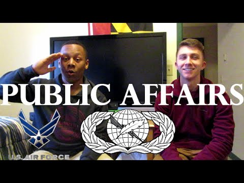 Amn Hayes talks his job: Public Affairs 3N0X2