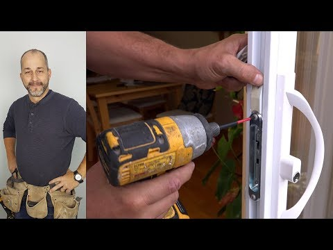 How to Replace a Patio Door Handle