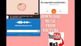 Download How to download music on YouTube (Paano Mag download ng music mula sa youtube)