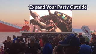 Tents &  LED Screens - Fire Up Your Tent Event