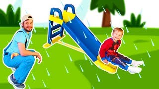 Rain Rain Go Away Song #4 | Mirik Yarik Nursery Rhymes & Kids Songs
