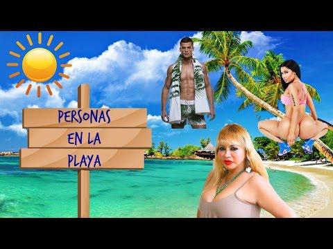 TIPOS DE PERSONAS EN LA PLAYA | JANA