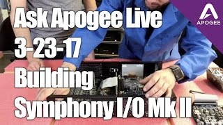Ask Apogee Live - Join us as we speak with Jack about the process o...
