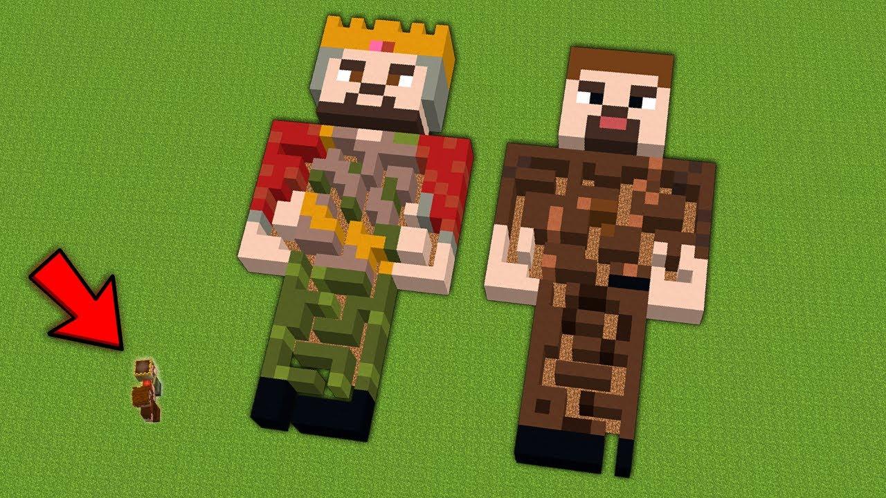 ZENGİN VE FAKİR GİZLİ LABİRENT SAKLAMBAÇ - Minecraft