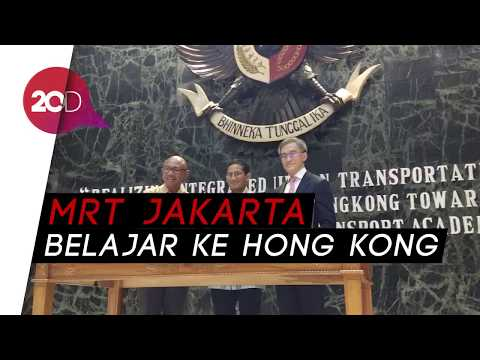 Ingin Bertaraf Dunia, MRT Jakarta Belajar ke MTR Academy Hong Kong