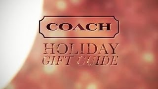 Coach Holiday Gift Guide Thumbnail