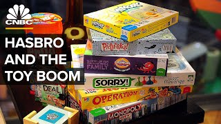 Why The Toy Boom Has Been Good For Monopoly Maker Hasbro