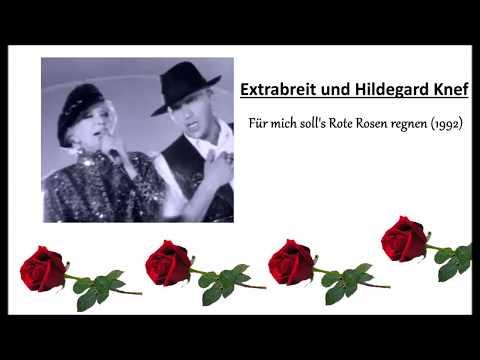 Extrabreit und Hildegard Knef - Für mich solls rote Rosen regnen (Lyrics)