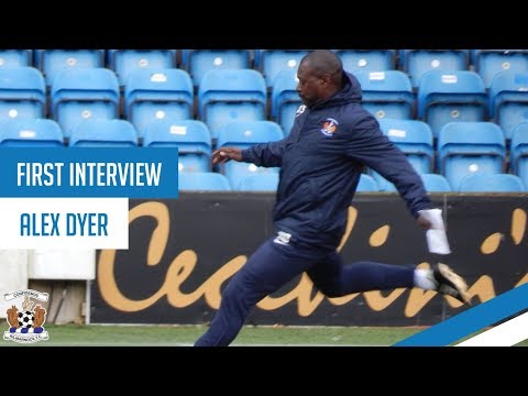 First Interview | Alex Dyer