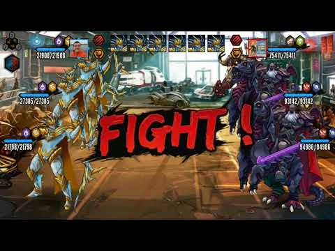 Mutants Genetic Gladiators PVP 128 #1 ( ORION platinum in Action ) GIVEWAY