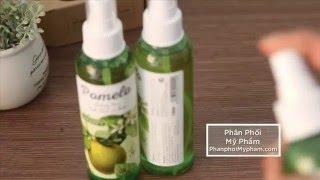Video: Tinh dầu vỏ bưởi Pomelo Cocoon Trị rụng tóc