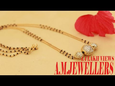 Simple and stylish new mangalsutra designs || light weight beautiful mangalsutra Design /mangalsutra from YouTube · Duration:  1 minutes 29 seconds