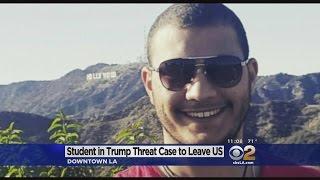 أميركا: ترحيل طالب مصري هدد ترامب بالقتل