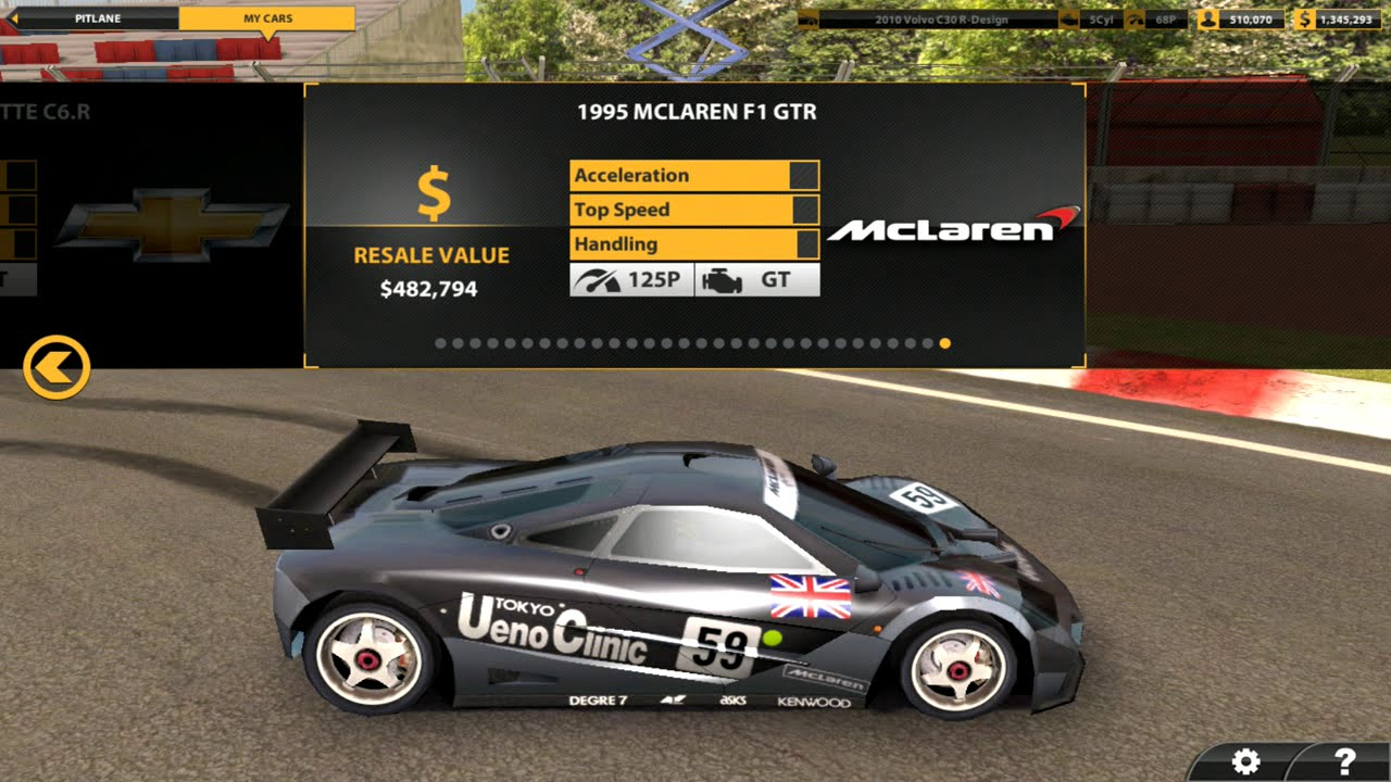 Real Racing All Cars Android Youtube