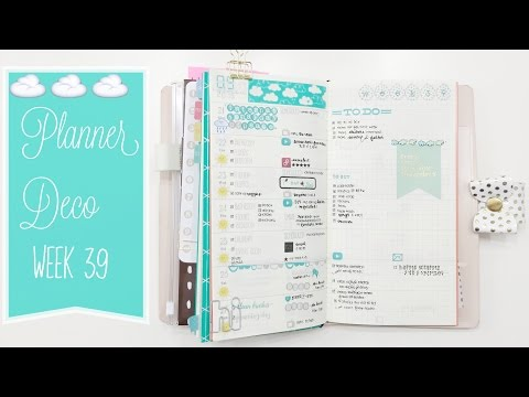 Planner Deco Week 39 & Turn Out (Sweetdori/fauxdori)
