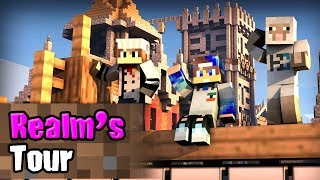 All Realm Tour (PocketPur, Bedrock SMP, Indian SMP etc) - Minecraft PE   in Hindi   BlackClue Gaming