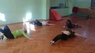 Стрип пластика в школе танцев, Sexy Jazz с Диной G