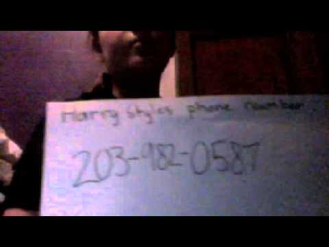 harry styles real phone number youtube. Black Bedroom Furniture Sets. Home Design Ideas