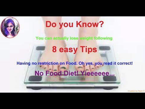 Slim tips || How to lose weight fast without food diet || Taste the Fire