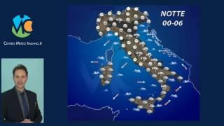 Previsioni meteo Italia 10 Gennaio 2017