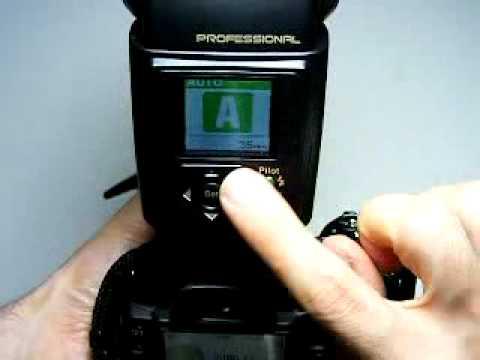 flash nissin di866 professional for nikon 2 power on youtube rh youtube com