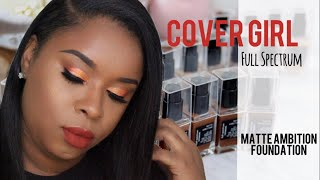 Cover Girl Full Spectrum Foundation Review | Tutorial