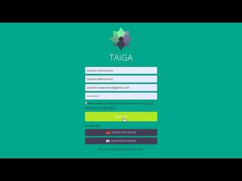 Teletraballo: Pílula sobre Taiga