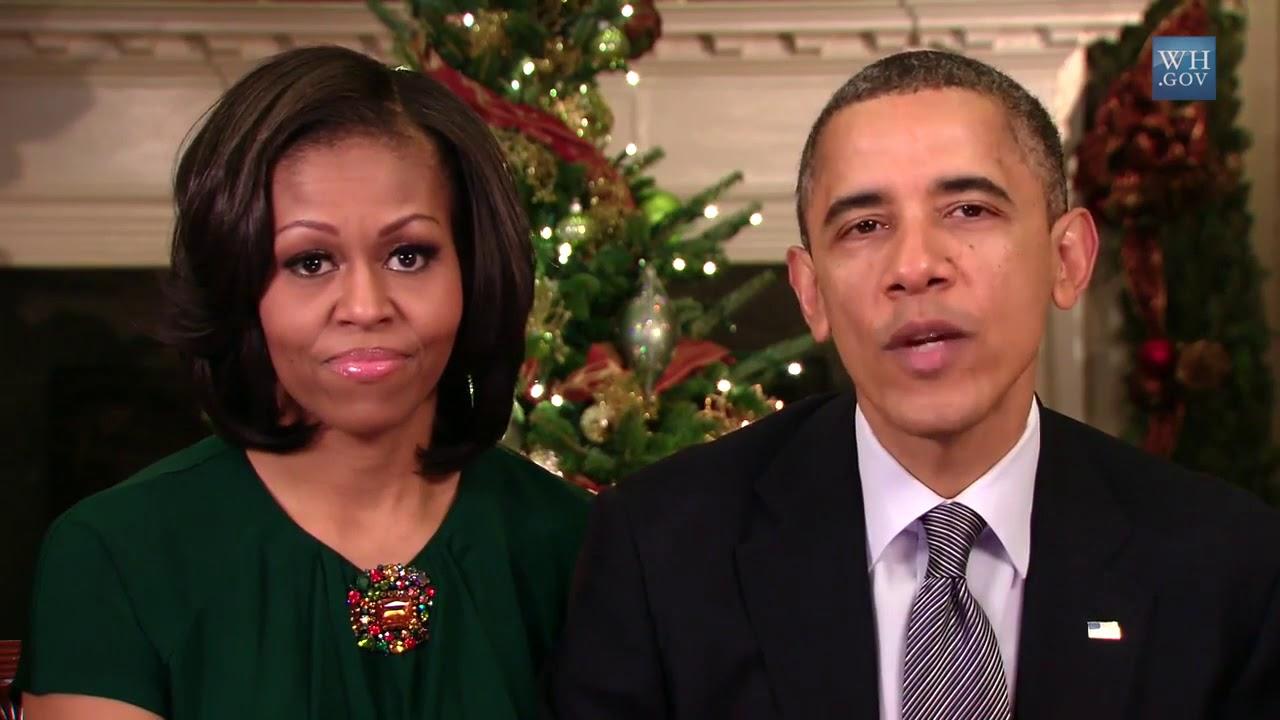 Barack Obama Merry Christmas 2012 - YouTube