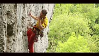 The Final Round - Rab Athlete Tom Randall first ascent of The Final Round (8a+/b, HXS) Trad Climbing