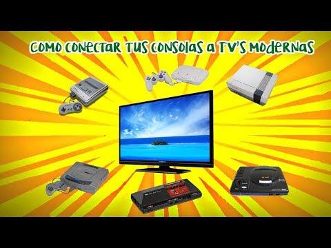 Como conectar tus consolas retro a TV's modernas - La opinión de RACCAR