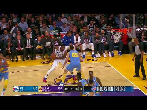 Philadelphia 76ers vs. Los Angeles Lakers - November 15, 2017