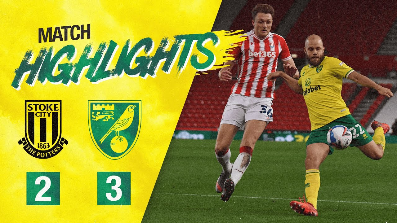 HIGHLIGHTS | Stoke City 2-3 Norwich City