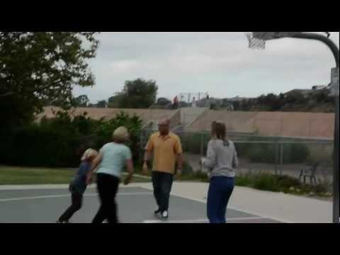 Basketball with Nana