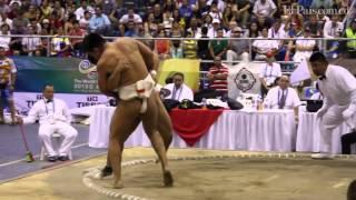 Дмитрий Слепченко на Всемирных играх (Колумбия, 2013), сумо