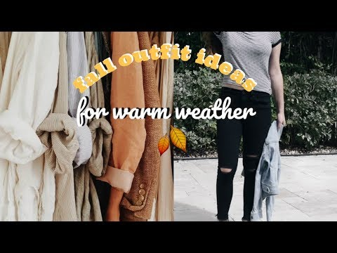 FALL OUTFITS 2017// WARM WEATHER 4