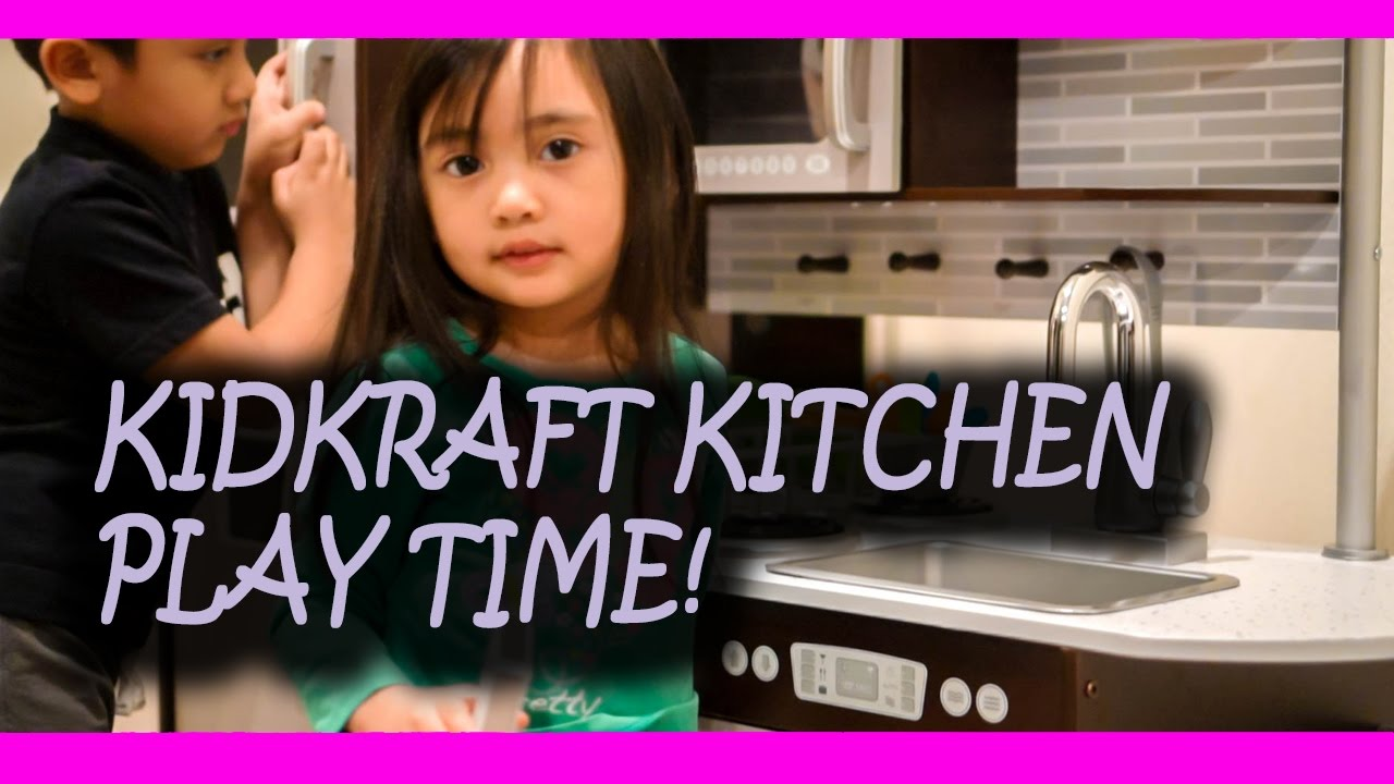 KIDKRAFT UPTOWN ESPRESSO KITCHEN: Assembly, Review, and Play time!