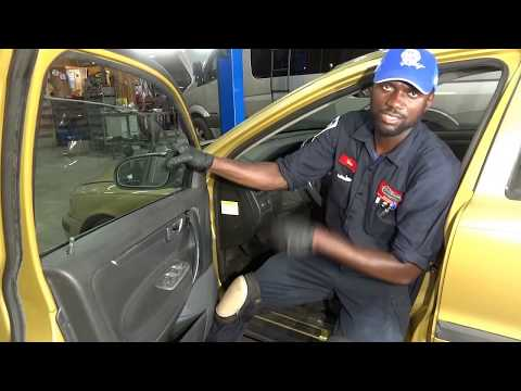 How to Replace  Window Regulator Sliding Blocks on a 2001 Volvo S60, S80,