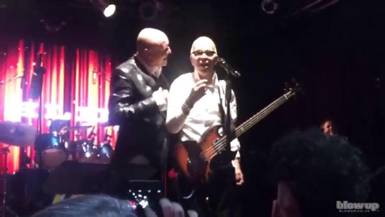 Tony Visconti Calls David Bowie To Sing Happy Birthday Holy Holy At Highline Ballroom Jan 8th 2016 Youtube