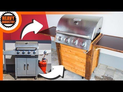 Barbecue Gas Grill Selber Bauen Grillwagen Teil 2