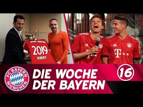 Die Woche der Bayern: Ribéry verlängert & das neue Trikot ist da!   Ausgabe 16