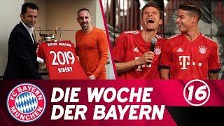 Die Woche der Bayern: Ribéry verlängert & das neue Trikot ist da! | Ausgabe 16