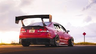 homepage tile video photo for Boosted Widebody Civic 8th gen | Clinched Flares