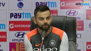 With our bowling attack, we won't struggle to find the right balance: Kohli