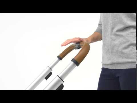 Mutsy Промо пакет Шаси със светлокафява дръжка + Кош за новородено + Седалка и сенник i2 Pure Fog #nqrt2-OGTS4