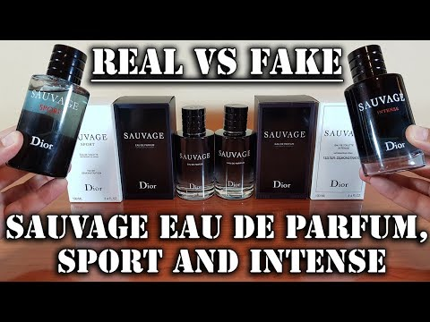 3b13b050 Fake fragrances - Sauvage Parfum 2018, Sport and Intense by ...