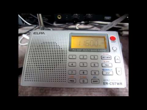 Comparison of 2 Portable Radios: DEGEN DE1105 & ELPA ER-C57WR